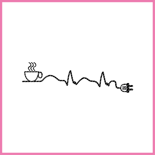 COFFEE ADDICTED plotterdatei-coffee-addicted zum download