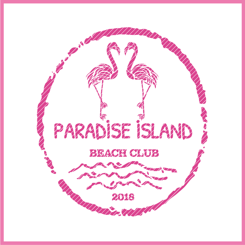 Plotterdatei zum Download FLAMINGO PARADISE