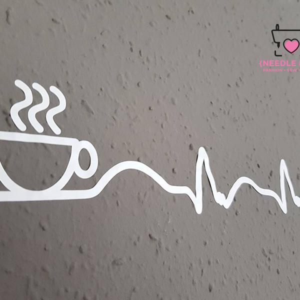 COFFEE ADDICTED Plotterdatei