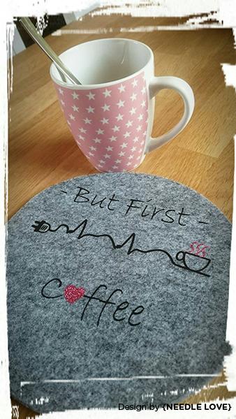 COFFEE ADDICTED Plottermotiv