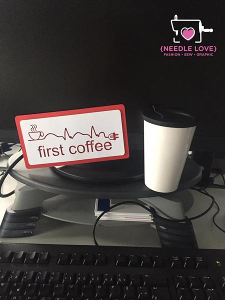 COFFEE ADDICTED Motiv