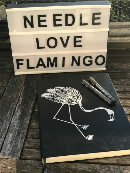 Plotterdatei zum Download FEDER FLAMINGO