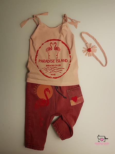 FLAMINGO PARADISE Plotterdatei zum Download