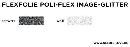 Farbkarte Image-Glitterfolie