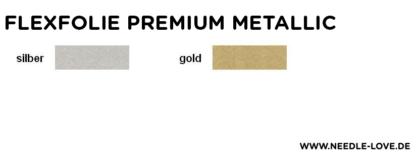 Farbkarte Metallicfolie