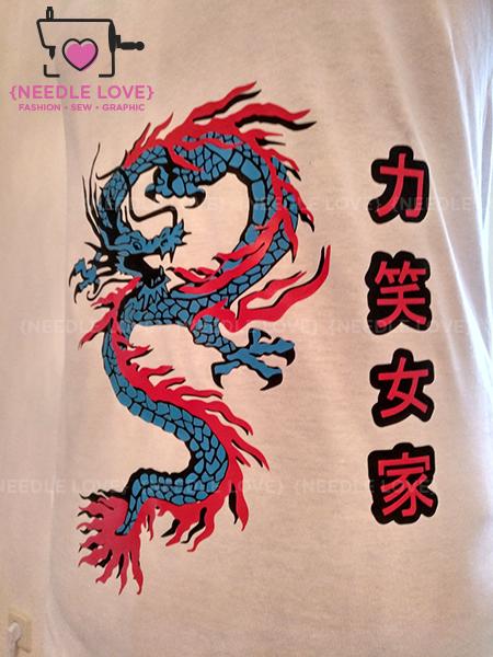 DRAGONBIRD das mystische Fabelwesen in einer blau-roten Variante. Sieht MEGA aus!!!