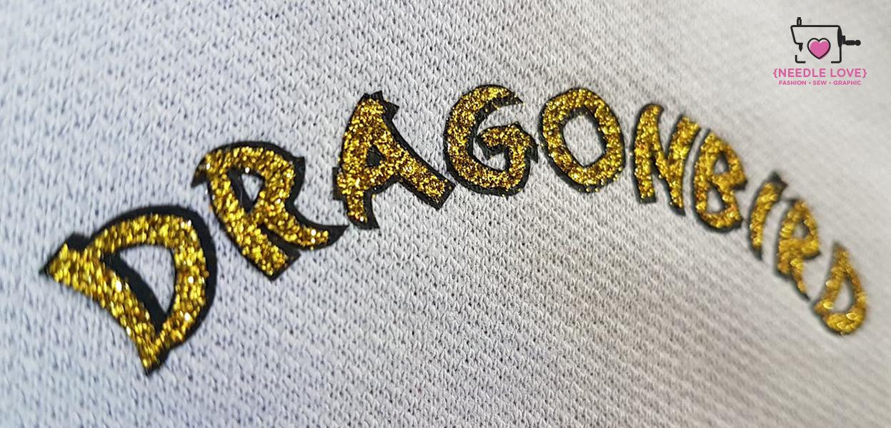 DRAGONBIRD das Fabelwesen in megatoller Farbkombi grün mit gold