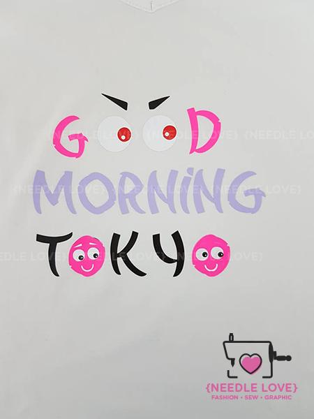 GOOD MORNING TOKYO Plotterdatei zum Download
