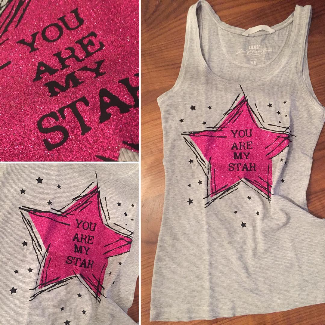YOU ARE MY STAR Plotterdatei zum DownloadYOU ARE MY STAR Plotterdatei zum Download