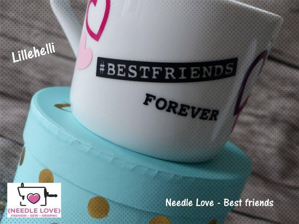 BEST FRIEND Plotterdatei zum Download