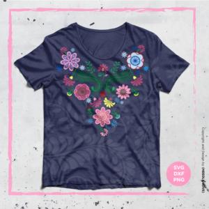 BOHO FLOWER Plotterdatei zum Download