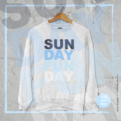 SUNDAY FUNDAY Plotterdatei zum Download