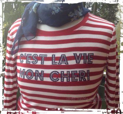 C'EST LA VIE MON CHERI Plotterdatei zum Download