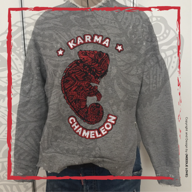 Karma Chameleon, das Motiv für Entgitterspezialisten